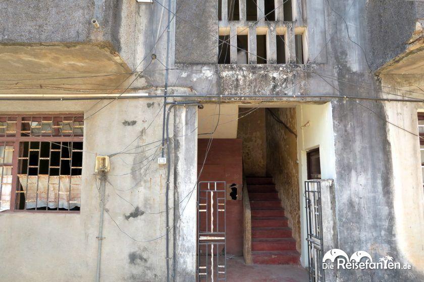Hauseingang in Indien