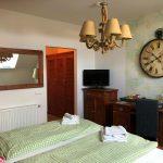 Maritimes Doppelzimmer im Hotel Garni Bootshaus