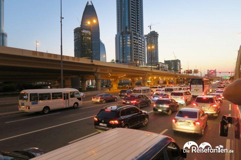 Verkehr in Dubai