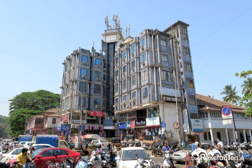 Wohngebäude in der Region Goa