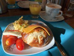 Frühstück im Hotel Garni Bootshaus
