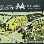 Übersichtsplan des Malahide Castles