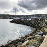 Blick auf das Hafenbecken von Howth