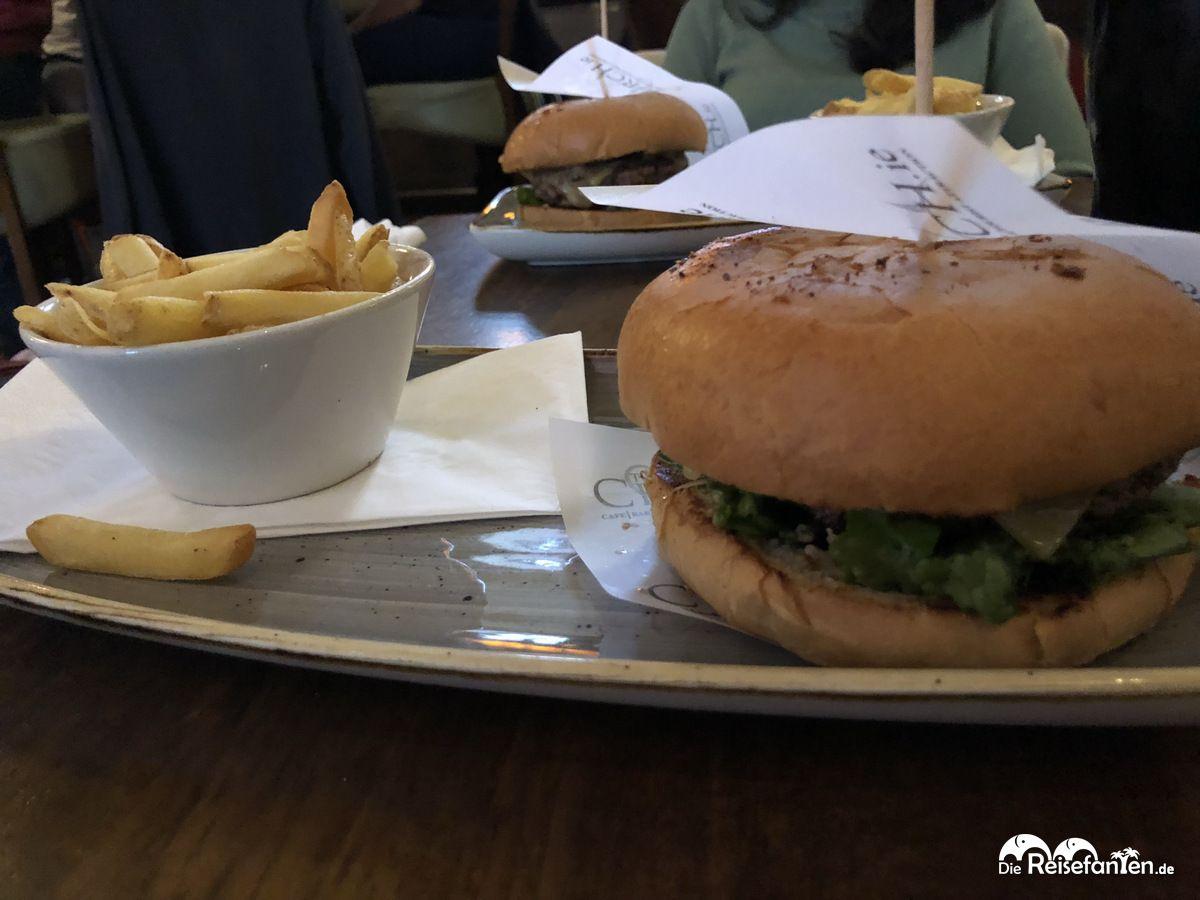 Burger im The Church in Dublin
