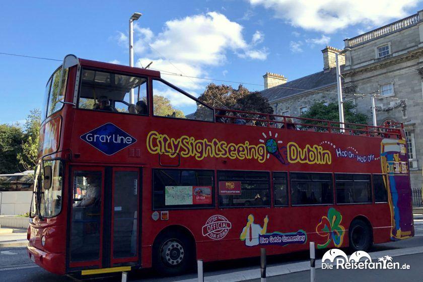 Ein Hop n Hop Off Bus von City Sightseeing Dublin