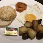 Frühstück im Crowne Plaza Hotel Dublin Airport