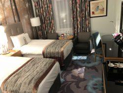 Zweibettzimmer im Crowne Plaza Hotel Dublin Airport
