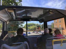Die Fahrt mit dem Hop On Hop Off Bus von City Sightseeing Dublin