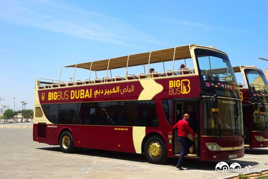 Foto des BigBus Dubai