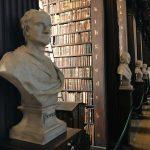 Büste von Newton im Long Room