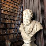 Büste von Sokrates im Long Room