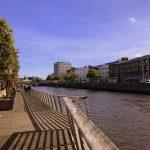 Blick auf den Liffey in Dublin