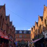 Blick auf die George's St. Arcade in Dublin