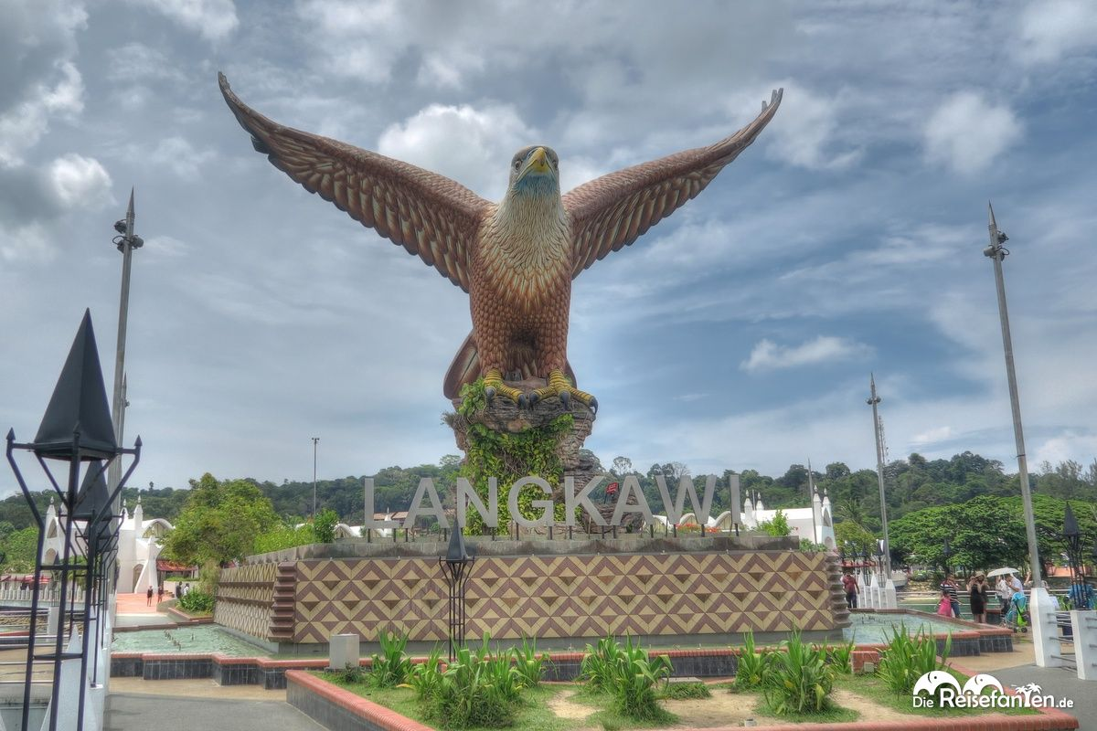 Der Adler als Wahrzeichen Langkawis