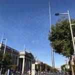 Der Spire an der O'Connell Street in Dublin
