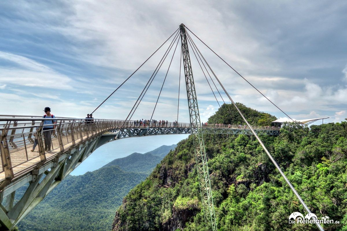 Die Skybridge auf Langkawi
