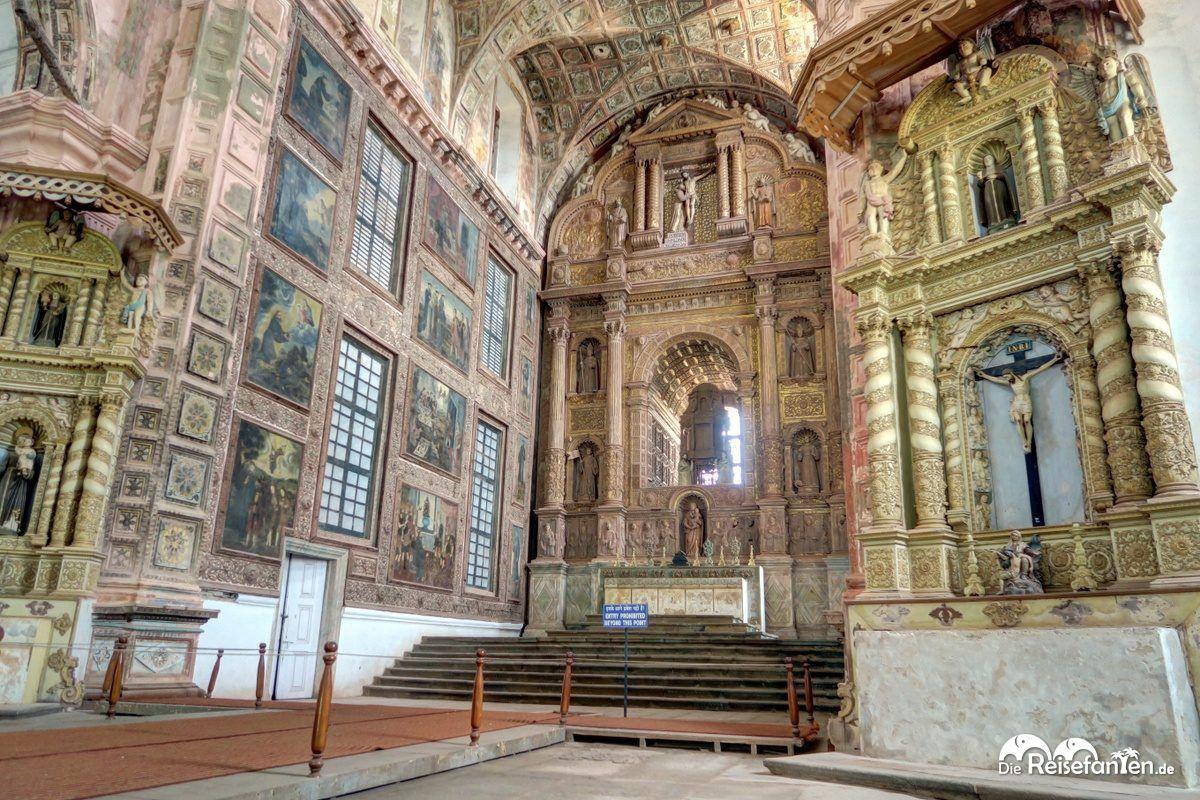 In der Church Of St. Francis Of Assisi im indischen Goa