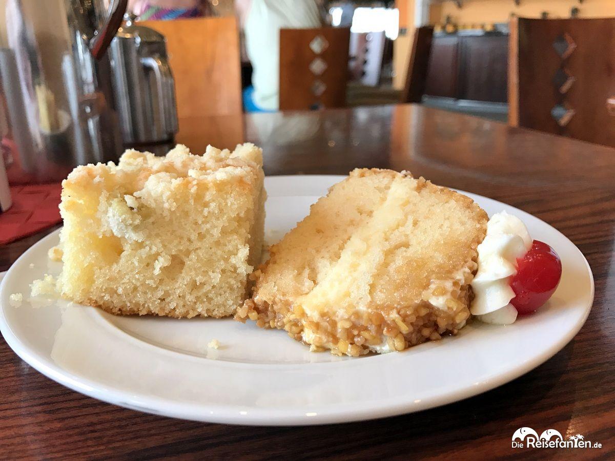 Kuchen auf der AIDAbella