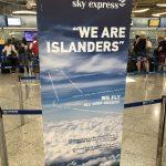 Sky Express hat Verbindungen zu vielen griechischen Inseln