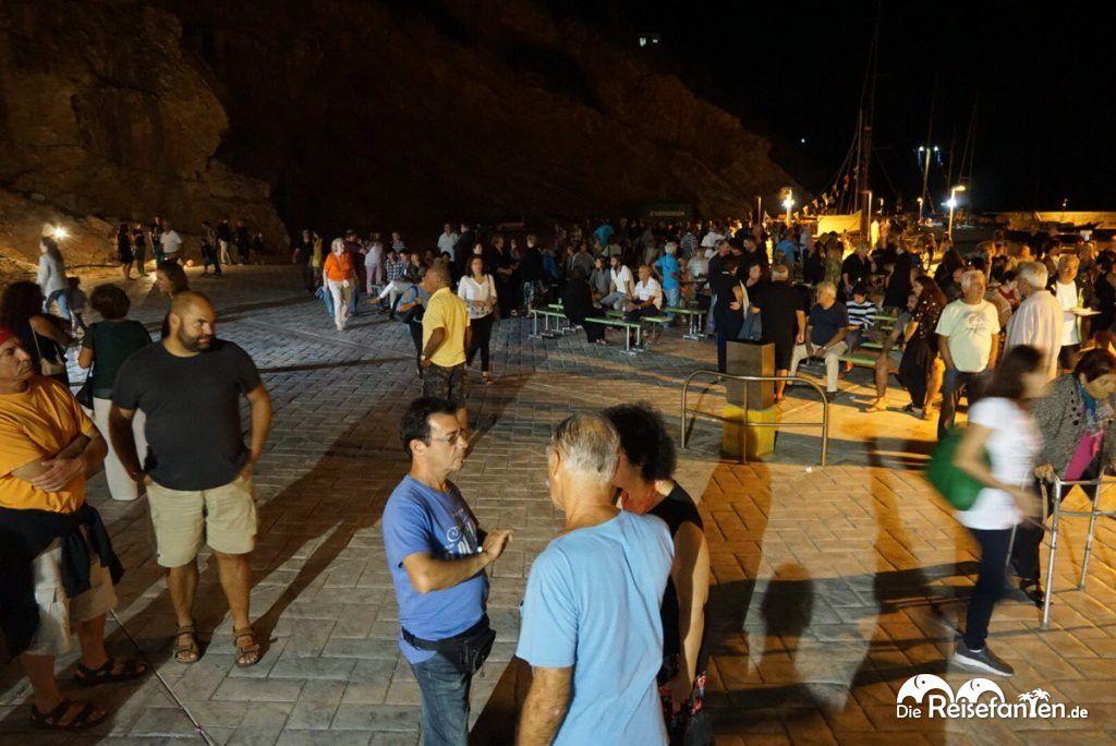 Stadtfest anlässlich der Regatta von Ikaria