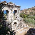 Die Reste des Odeon auf Ikaria
