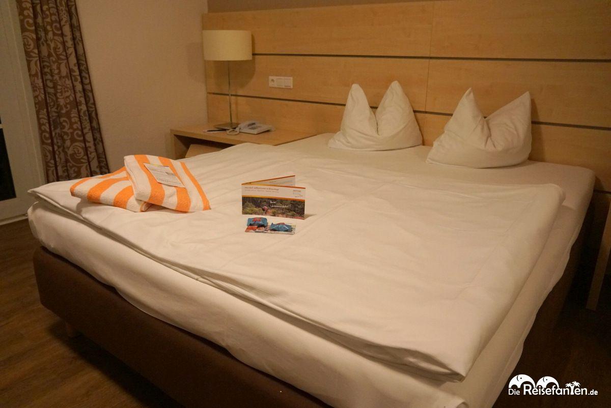 Doppelzimmer im Relaxa Hotel Harz Wald