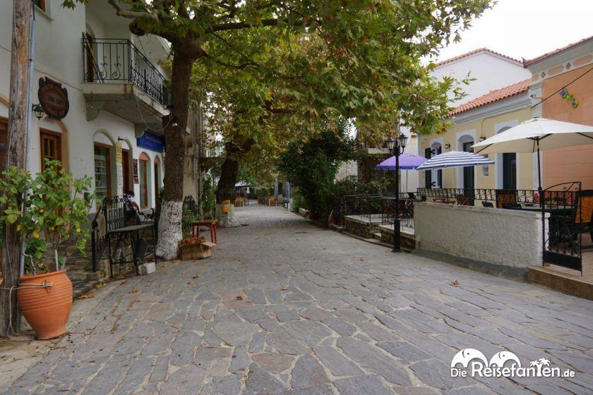 Der kleine Ort Nas auf Ikaria