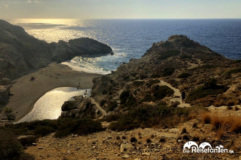 Die Bucht von Nas auf Ikaria