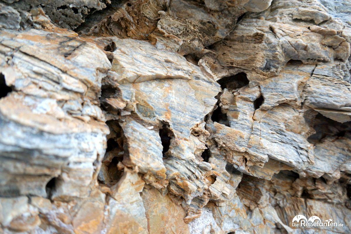 Eine Freude für Geologen
