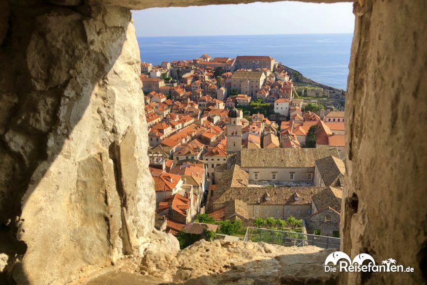 Blick auf die Altstadt von Dubrovnik