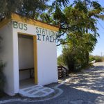 Bushaltestelle auf Ikaria