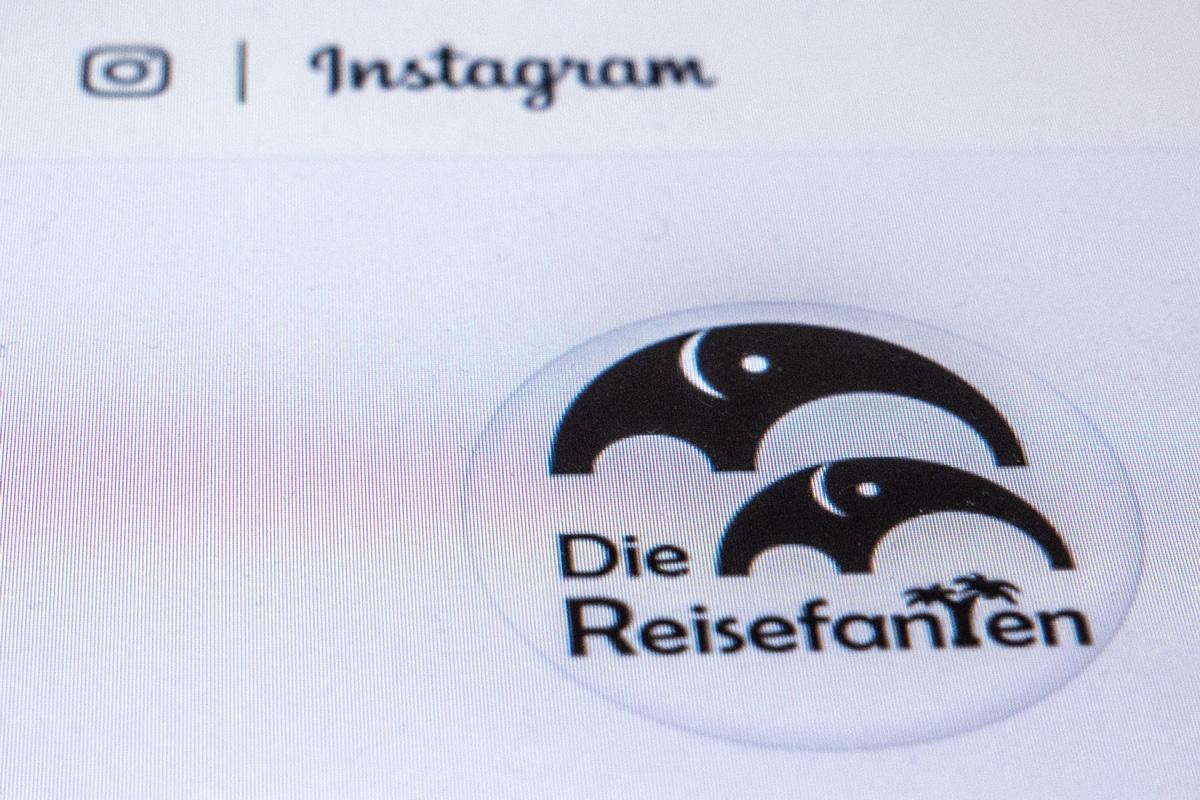 Das Instagram Profilbild der Reisefanten