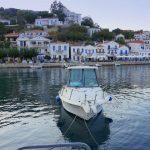 Der Hafen von Evdilos liegt im Norden von Ikaria
