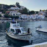 Fischerboot im Hafen von Evdilos auf Ikaria