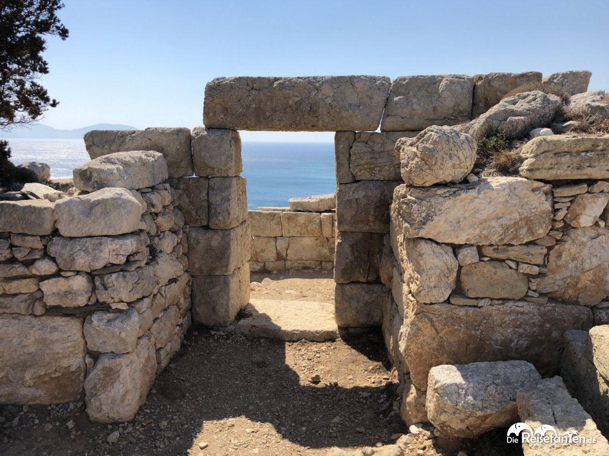 Schöne Fotomotive befinden sich am Drakano Turm auf Ikaria
