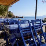Taverne am Strand von Ikaria