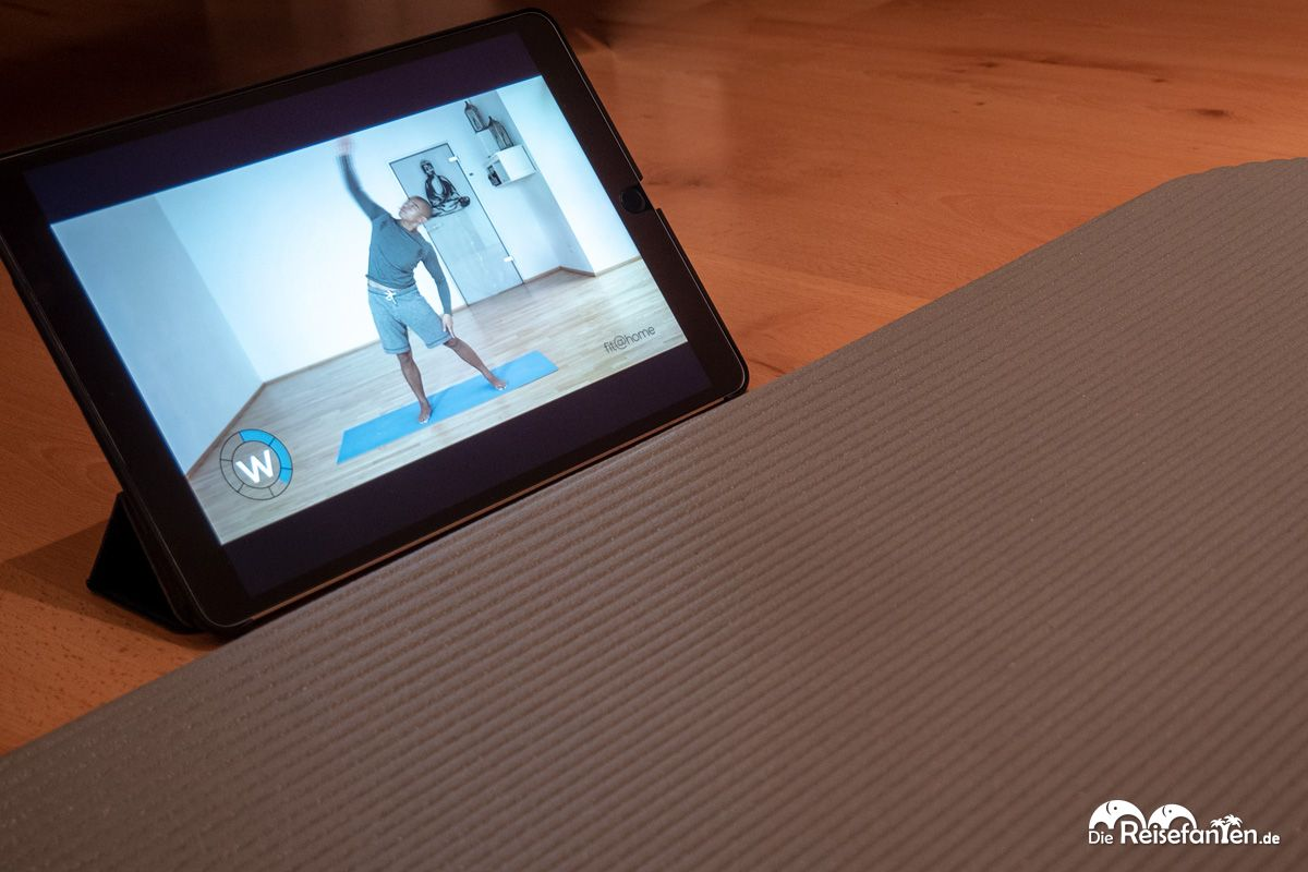 Yogaletics gibt es auch als Online Video Version