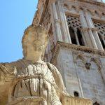 Die gesamte Altstadt von Trogir ist Weltkulturerbe