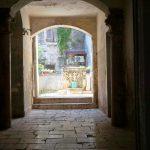 Ein Hinterhof in Trogir