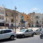 Ein zentraler Platz in Bari
