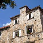 Mittelalterliche Gebäude in Trogir