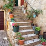 Schöne Treppe in Trogir 1