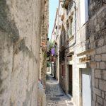 Schmale Straßen in Trogir
