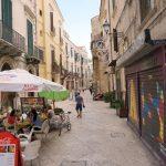 Straße in Bari