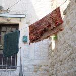 Wäsche auf der Leine in Trogir