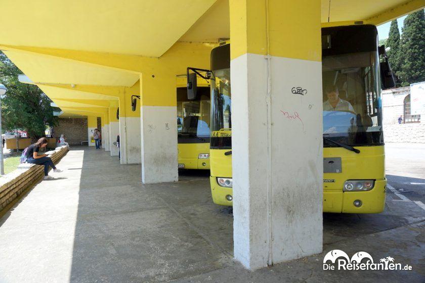 Bushaltestelle von Trogir
