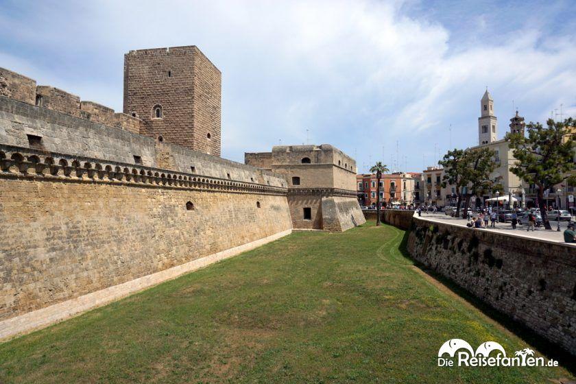 Die Befestigungsanlage in Bari