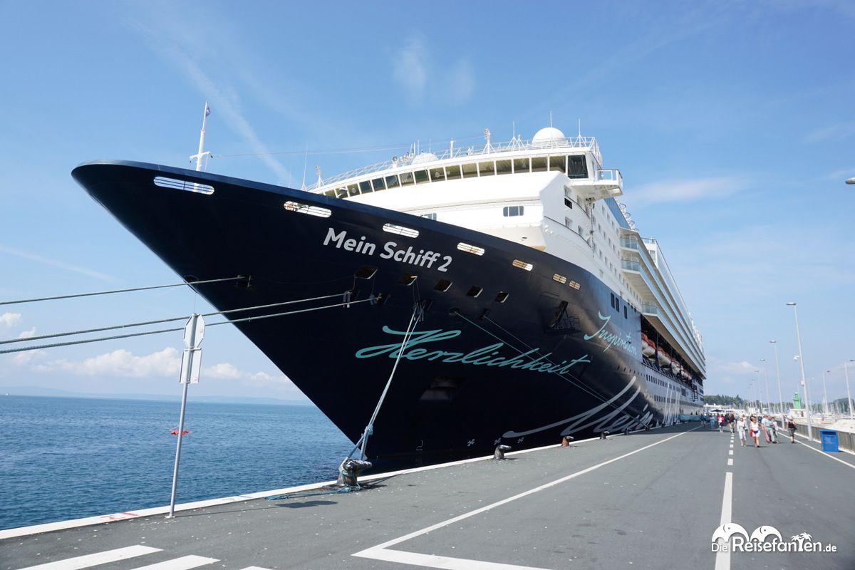 Die Mein Schiff 2 in Split
