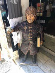 Game of Thrones Souvenirshop in Dubrovnik