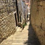 Gasse in der Altstadt von Dubrovnik